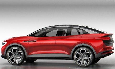 VIZZION er først ut av de elektriske SUV-ene fra Volkswagen, så får den følge av ID Lounge.
