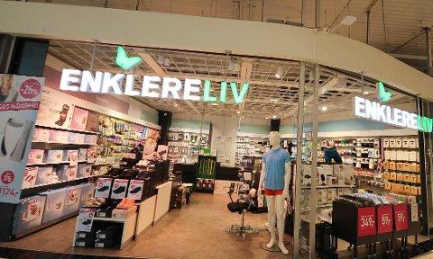 Enklere Liv har utsalg på Amfi Borg. Dette bildet er fra butikken i Moss.