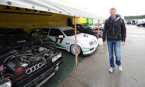 NEDTUR: Daglig leder for Gatebil, Hans Jørgen Andersson, har allerede avlyst flere Gatebilfestivaler i år, nå spøker det for de to festivalene på Rudskogen Motorsenter.