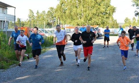 57 løpere deltok i denne ukas utgave av Torsdagsløpet i Kalnesskogen.