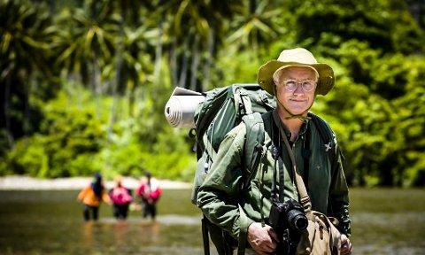 I FELTEN: Lege Gunnar Hasle er opprinnelig fra Askim og spesialist i infeksjonssykdommer. Tilknyttet Leger Uten Grenser dro han til ebolarammede Liberia for fire år siden. FOTO: Privat