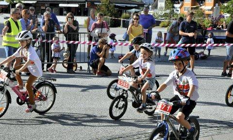 I fjor sommer gikk Tour of Norway for kids av stabelen i Steinkjer sentrum. Søndag er det klart for familiedag på sykkel i forbindelse med TV-aksjonen.
