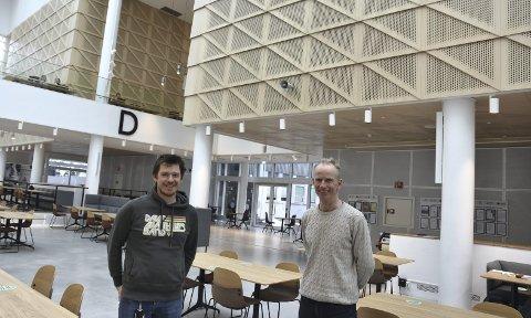 Digitalt Løft: Vegard Forbord i Smart Media og Einar Kvemo fra T:lab jobber med «Industri 4.0», som er et digitalt kompetanseløp for små- og mikrobedrifter.