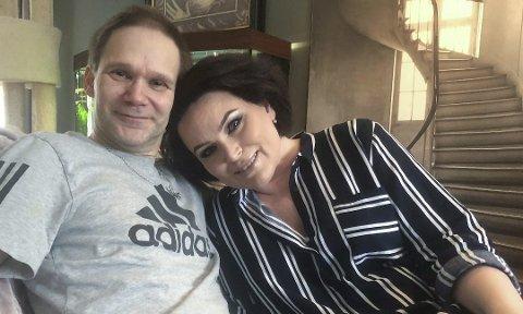 GLAD FOR LIVET: Roar og kona Linda er takknemlig for at Roar fikk den hjelpen han trengte da han oppsøkte lege i Mehamn. Begge foto: Trond Ivar Lunga