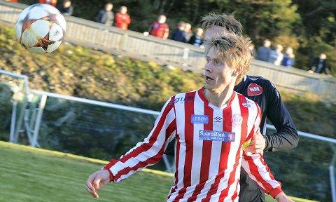 Christoffer Folland har stilt inn siktet også denne sesongen. Bildet er tatt under en tidligere kamp.