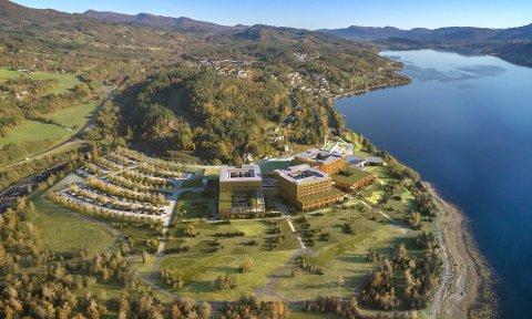 Skanska har inngått avtale med COWI, Arkitema Architects og Ratio arkitekter i forbindelse med byggingen av det nye fellessykehuset for Nordmøre og Romsdal.