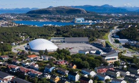 Atlanten stadion slik det så ut i august 2020.