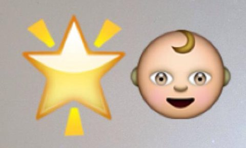 STJERNE: Hvis en eller flere av vennene dine har fått en stjerne ved navnet sitt på Snapchat, har noen spilt av hans eller hennes snap de siste 24 timene. Baby betyr at vennen er ny for deg.