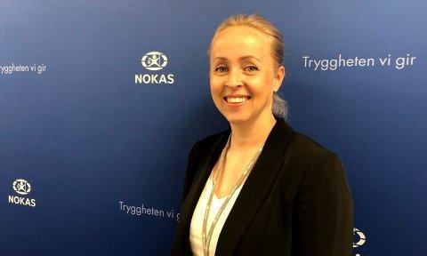 KEY ACCOUNT MANAGER: Inger Anette Lorentzen i Nokas kan juble over storkontrakten med Olav Thon gruppen.