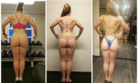 FITNESS: Lise Marie Sommerstad har sett seg lei av kritikken hun får på fitness-bildene sine.