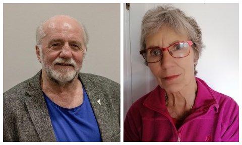 VENNER: Heming Olaussen og Elisabeth Sann har på nært hold sett en venn velge aktiv dødshjelp.
