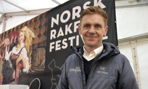 Planlegger: Håvard Halvorsen forteller om status i planleggingen til Rakfiskfestivalen.