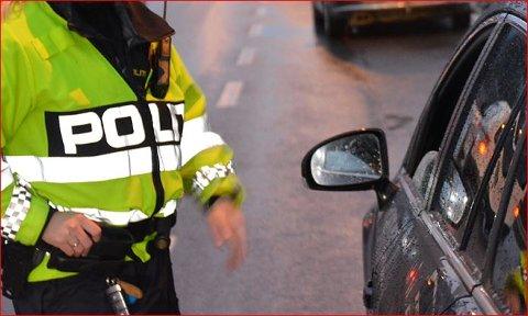 Spor: Politiet har sikra seg spor etter innbrotet på Nord-Aurdal ungdomsskole..
