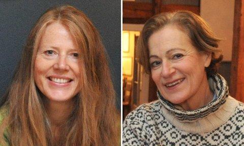 NYTTLAG:Margret Lie Wessel (t.h.) er konstituert leder mens Lill Heidi Oppsahl (t.v.) er medlem av interimstyret i Fortidsminneforeningens lokallag i Nittedal.
