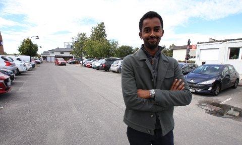 STORTINGSPOLITIKER? Roble Wais (24) sitter nå i kommunestyret for Høyre, men nominasjonsmøtet i november kan gjøre ham til en del av Høyres stortingsgruppe.