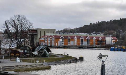 LANG LEIEAVTALE: Bridon-Bekaert Scanrope AS har besluttet å legge ned Tønsberg-fabrikken, men har leieavtale for tomta på Kaldnes til 2025.