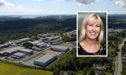 NETTHANDEL-HOVEDSTAD: Industriområdene på Kullerød i Sandefjord er hovedsete til mange netthandelsaktører. – Vi må selvsagt sørge for at de norske aktørene har minst like gode rammevilkår som sine konkurrenter ute, skriver Kristine Saga, regiondirektør for NHO i Telemark og Vestfold.
