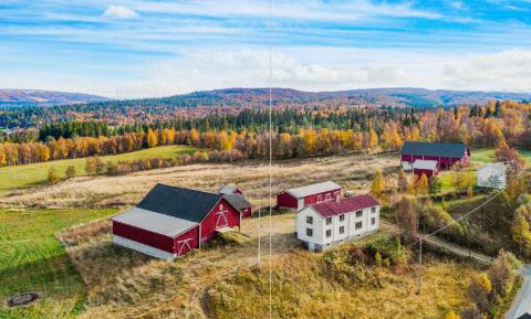 Bilde brukt av Holtålen kommune i sakspapirene til konsesjonssøknaden på Nordre Hollen.  Bildet er opprinnelig tatt av Meglerhuset Nylander.