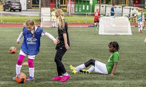 Trenger utskiftning: Kunstgresset på Ås stadion og Nordby stadion bør byttes ut. foto; Bonsak Hammeraas