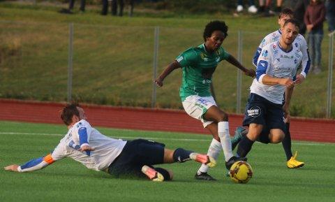 KJAPPE SCORINGER: Dliet Daniel Ghebar (16) scoret tre mål på 29 minutter.