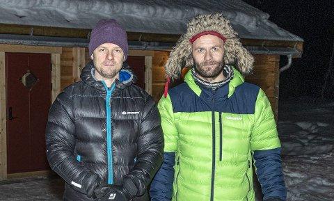 Satser på Ålvundeid: Emil Bråten (t.v.) og Morten Strøm i Skarfjell Utvikling.