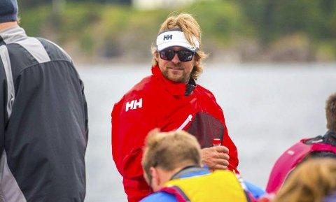 PÅ PLASS: Morten Røisland er eneste gjenværende fra Risør-laget som vant eliteserien i fjor.