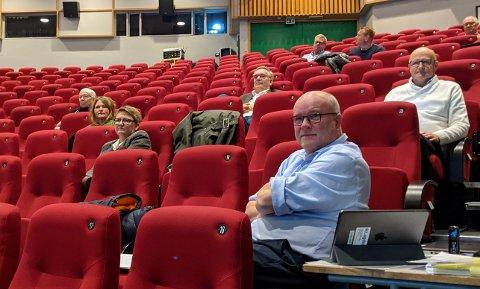 IKKE FORNØYD: Kai Strat (H) mener både kolleger i bystyret og kommunedirektøren må legge seg på en langt mer offensiv linje om man skal få til endringer i kommunen.