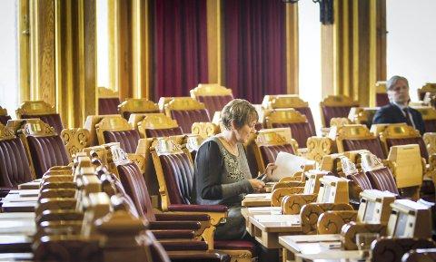 Stortingsvikar: I to periodar har Astrid Aarhus Byrknes vore vikar på Stortinget for KrF-leiar Knut Arild Hareide.   Arkivfoto: Yngve Garen Svardal