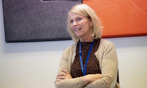 Administrerande direktør Kjersti Fyllingen ved Haraldsplass Diakonale sjukehus er no tilbake i jobb etter å ha vore smittet av korona.