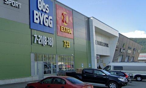 Butikken deres på kjøpesenteret er nå lagt ut for salg.
