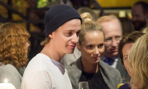 Gørvell-Dahll og kjæresten Maren Platou, her da Kygo fikk tittelen som Årets Bergenser i BA, har gått fra hverandre.