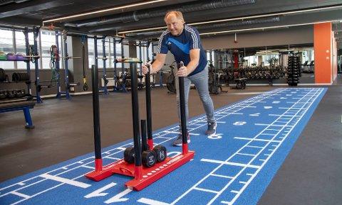 Direktør for Sammen trening Bård Johansen ser frem til at de kan åpne opp igjen.