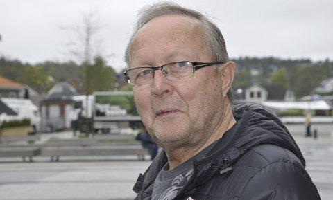 FORSIKTIG: Åge Johansen trives sammen med mennesker, men liker ikke stikke hodet sitt frem.FOTO: BOE JOHANNES HERMANSEN