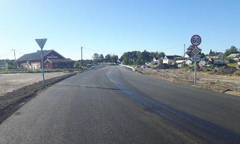 NYTT KRYSS: Det har vært to trafikkulykker på bare én uke i krysset mellom Torsnesveien/Habornveien.
