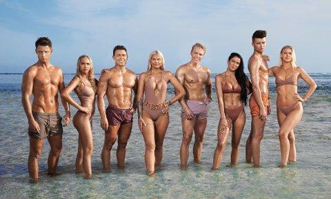 SESONG TO: Her er deltakerne av sesong to av «Ex on the Beach». Foto: Toke Mathias Riskjær / Discovery