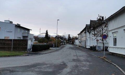 St. Croix gate har vært stengt på grunn av utbedring av vann og avløpsledninger. Foto: Fredrikstad kommune
