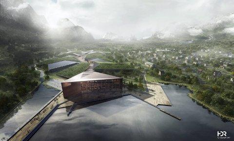 Det kanadiske selskapet overtok planene til Kolos (bildet). Det var blant annet rimelig elkraft som lå bak de store planene. Nå er ordningen fjernet - og et dypt skuffet og frustrert HIVE vil vurdere sin fremtid i Norge.