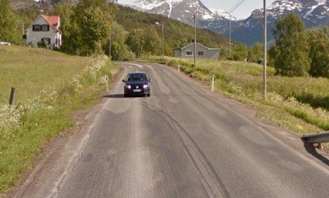 KONTROLLERTE: UP tok flere fartssyndere på fersken på E6 på Hergot onsdag.