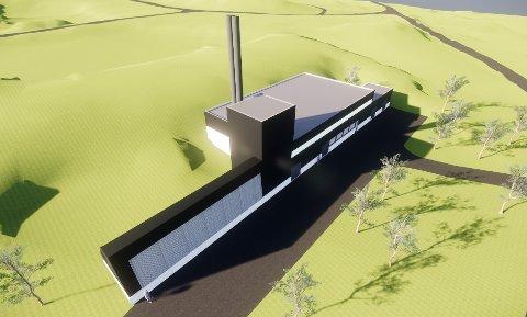 ENERGI: Energisentralen som skal bygges på Evenes vil forsyne både Forsvaret og Avinor med varmtvann for oppvarming.