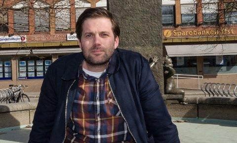 I HJEMBYEN: Alexander Svanberg tar om kort tid fatt på jobben i Horten kommune.