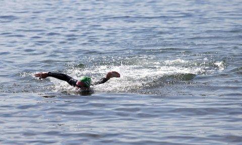 10 KM: Deltakerne i Openwater Horten - Moss må tilbakelegge 10 kilometer for å komme i mål.