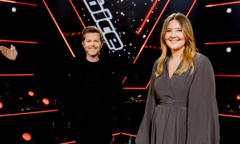 I FOKUS: Maria Petra Brandal ble en publikumsvinner under The Voice, her sammen med mentor Espen Lind.