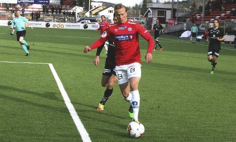Klar for Molde: Martin Ellingsen. Arkiv