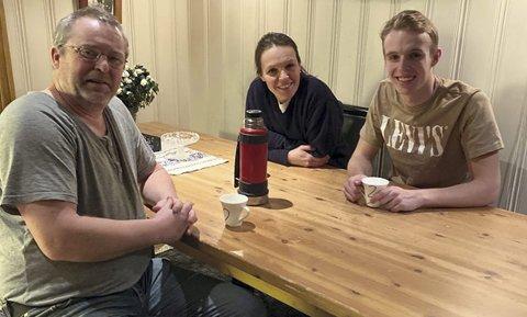 Vanskelig situasjon: Mamma Turid og pappa Geir gjør alt de kan for at sønnen Hallgeir skal kunne følge idrettsdrømmen sin. FOTO: TORILL HAUG ØIUNGEN