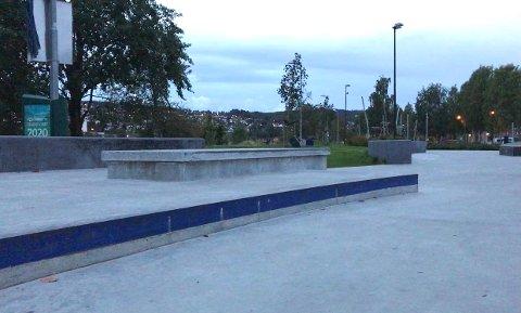 REGLER: Naboer ber om regler for bruk av skateparken.