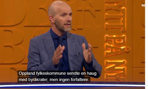Bård Tufte Johansen er programleder i Nytt på Nytt