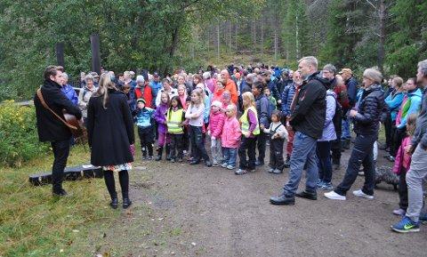 Elvelangs Harestua igjen: Bildet er hentet fra en tidligere vandring.