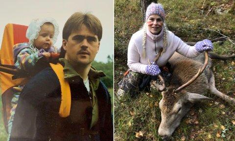 Hele livet: Trebarnsmor Lisa Godli har jaktet praktisk talt hele livet.