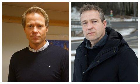 VIKEN-MØTE: Harald Tyrdal og Morten Lafton deltok i møtet med blant annet Statsforvalteren tirsdag kveld