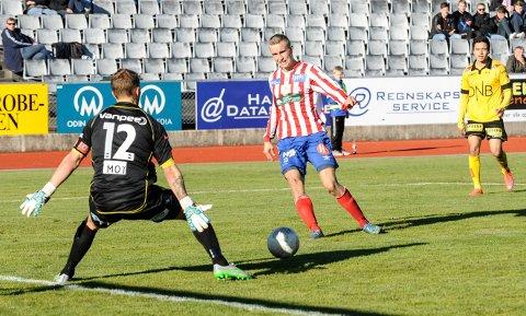 Martin Hoel Andersen har skrevet under en toårskontrakt.